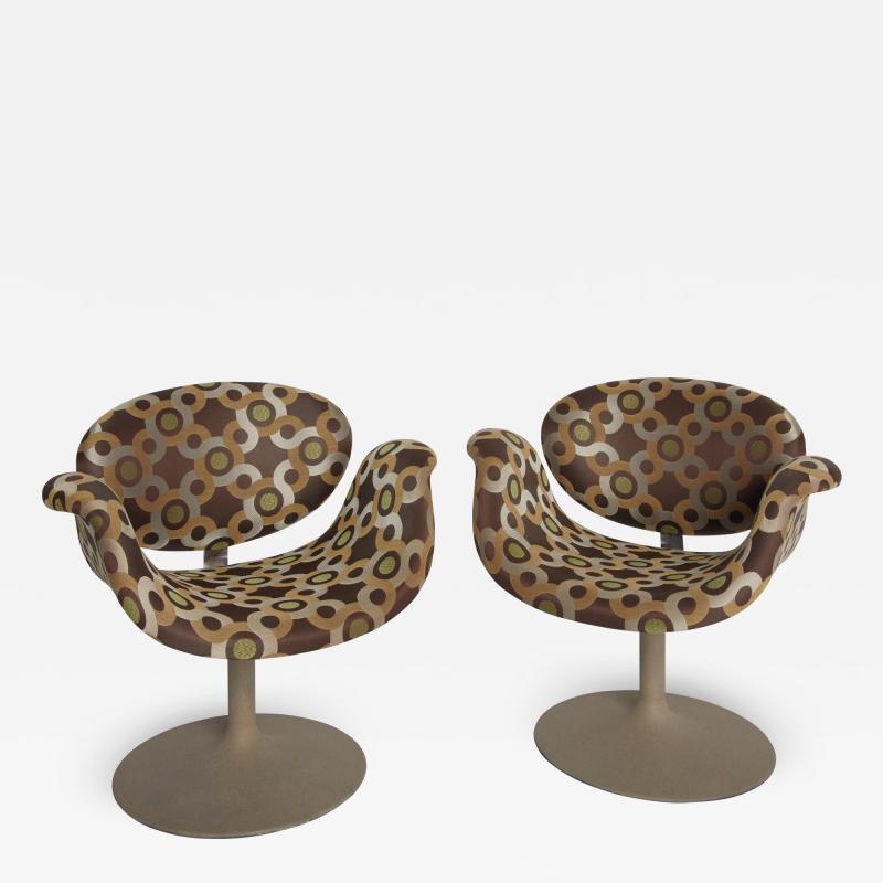 Pierre Paulin Little Tulip Arm Chairs