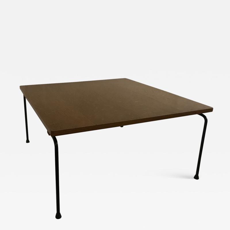 Pierre Paulin Oak plywood coffee table model CM192