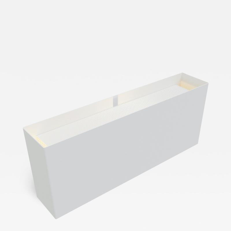 Pierre Paulin Pierre Paulin Wall Lamp 6135GM in White for Disderot