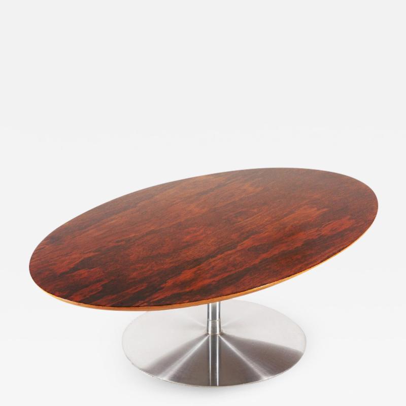 Pierre Paulin Rare Pierre Paulin Rosewood Coffee Table for Artifort 1960s