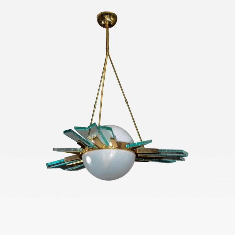 Pietro Chiesa 1960s italian chandelier