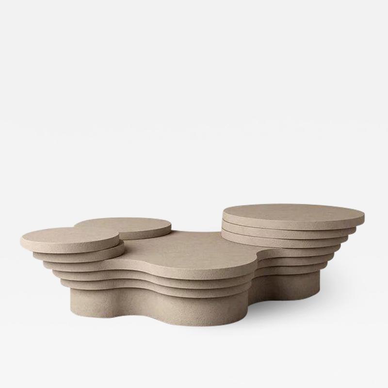 Pietro Franceschini Slice Me Up Sculptural Coffee Table by Pietro Franceschini