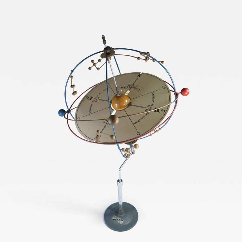 Planetarium Orrery Moveable Desk Display Model of the Solar System