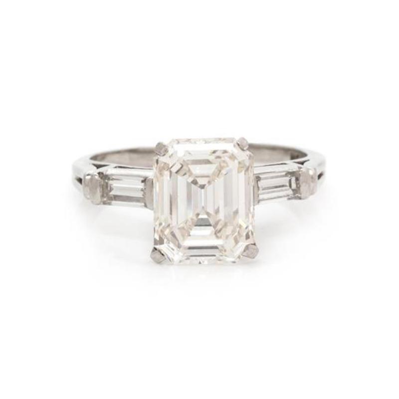 Platinum and Diamond 2 60 carat Ring