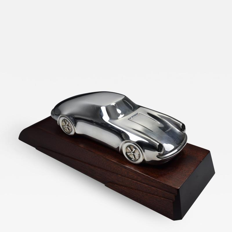 Porsche Sterling Silver Sculpture Desk Model