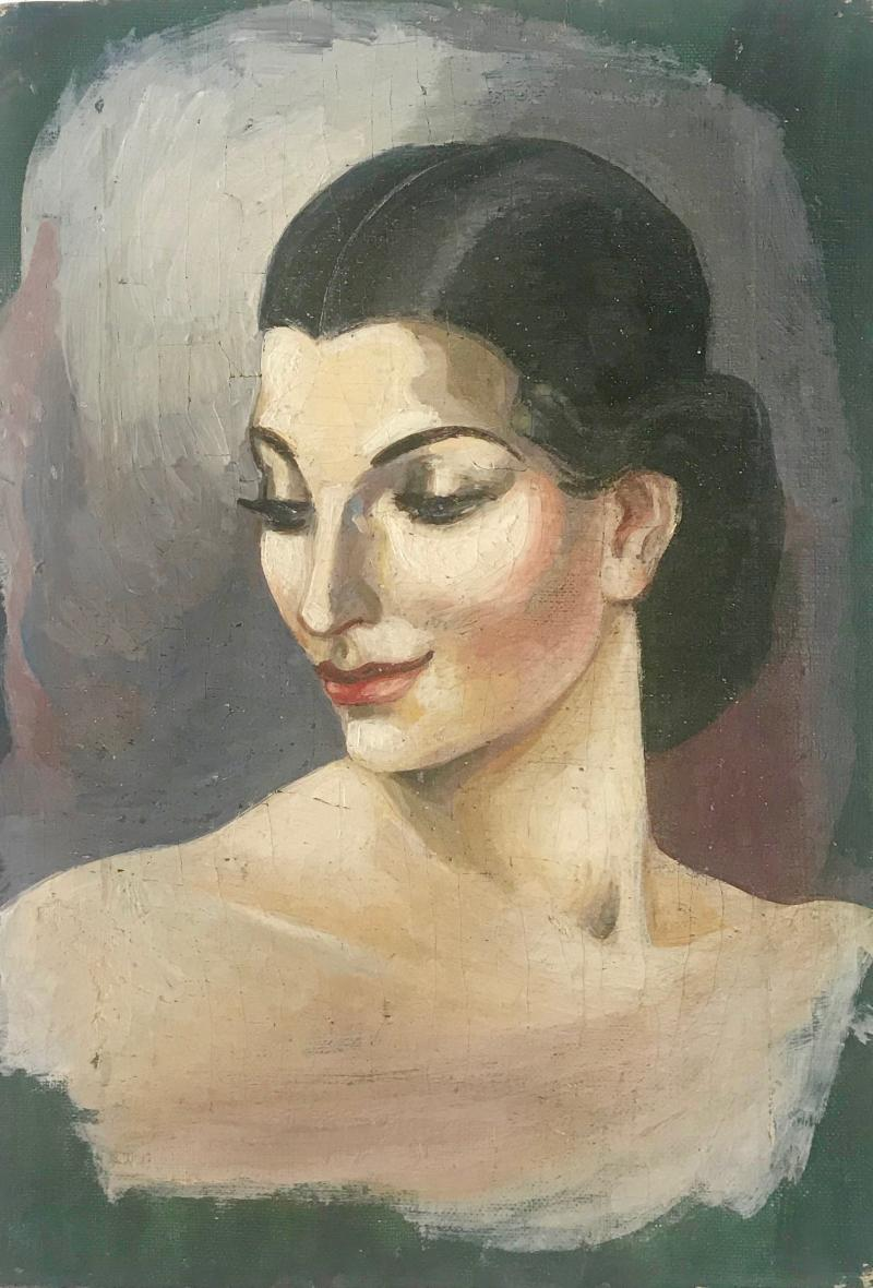 Portrait of an elegant