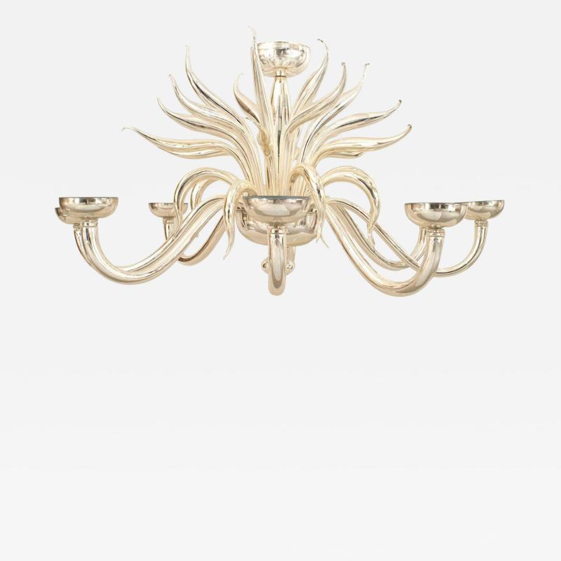Post War Design Italian Venetian Murano Chandelier