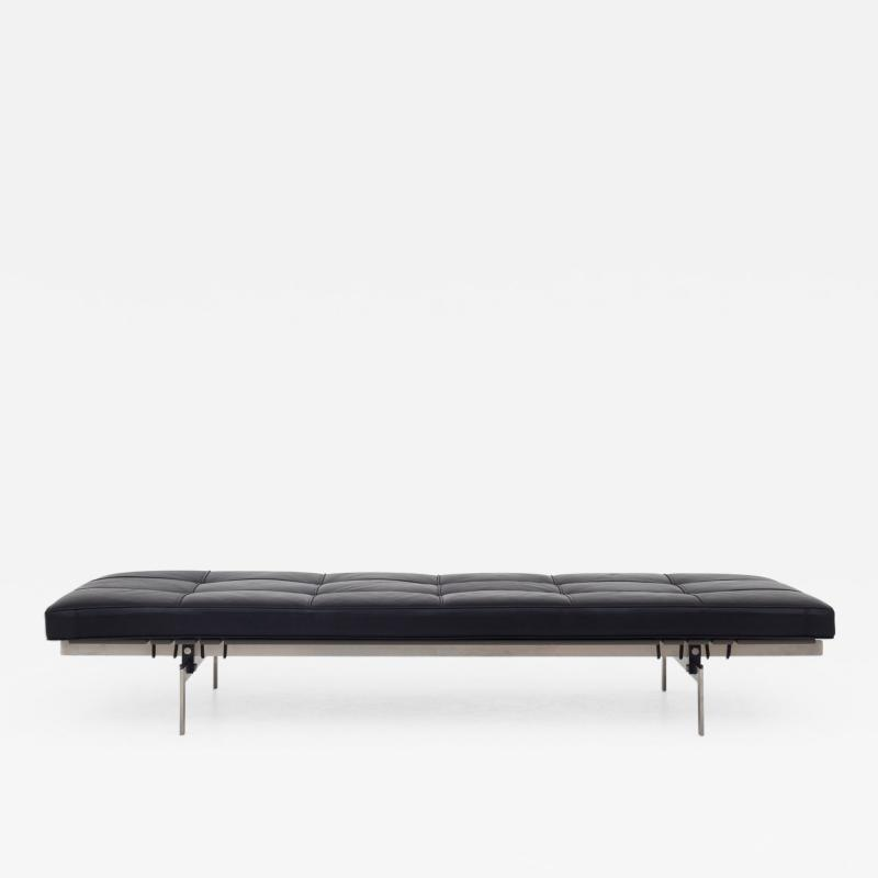 Poul Kj rholm PK 80 Daybed in Black Leather
