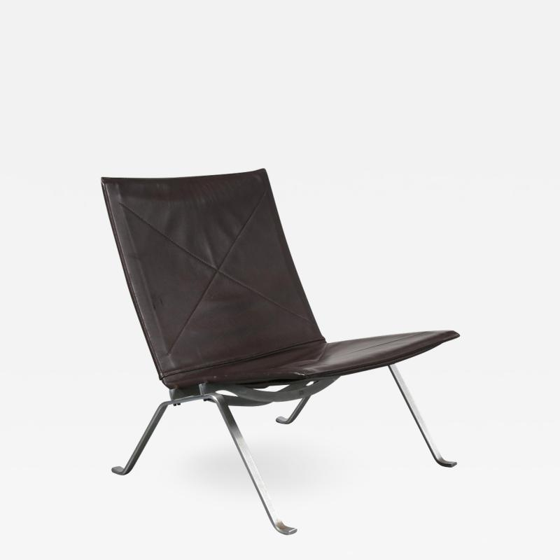 Poul Kjaerholm PK22 Lounge Chair by Poul Kjaerholm for E Kold Christensen Denmark 1960