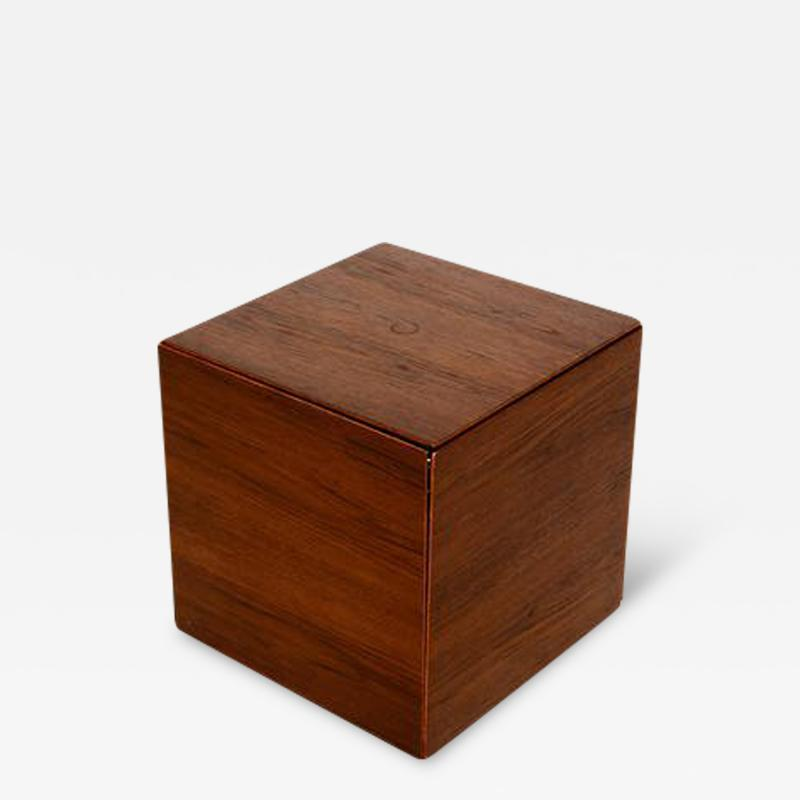 Poul N rreklit Teak Nesting Tables Poul N rreklit for GP Farum Magic Puzzle Cube