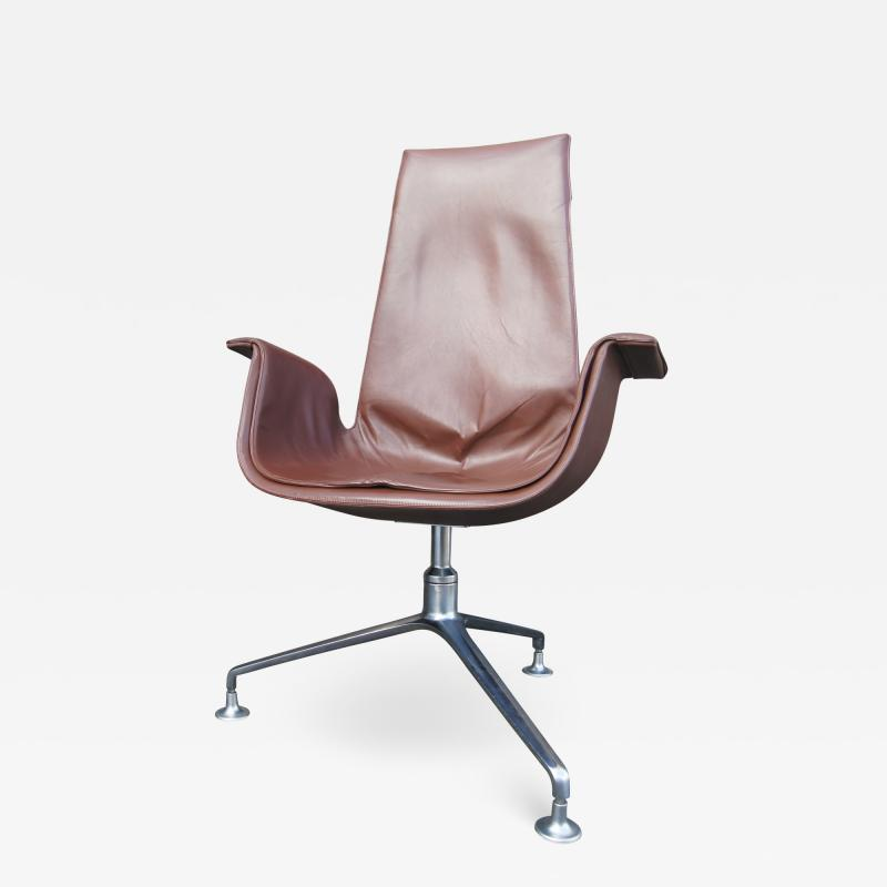 Preben Fabricius High Back Bird Chair by Preben Fabricius and J rgen Kastholm for Alfred Kill