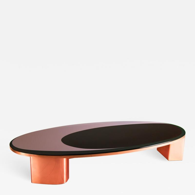 Privatiselectionem 1969 Copper and Resin Finish Low Table