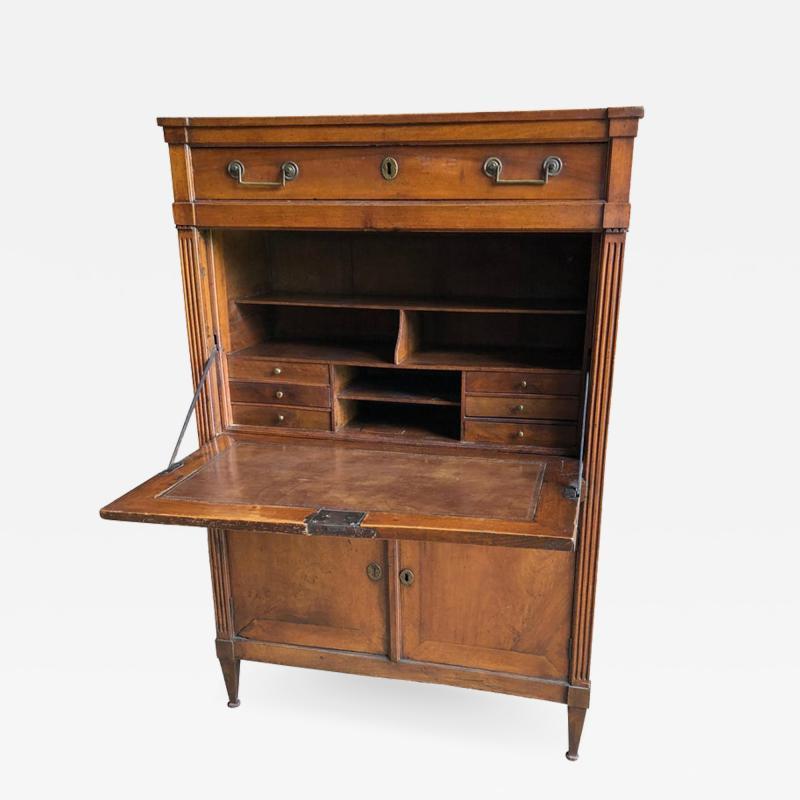 Provincial French Louis XVI Secretaire Desk 18th Century