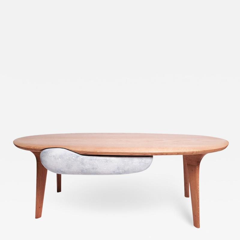 R mi Capdepuy A Noste coffee table with drawer