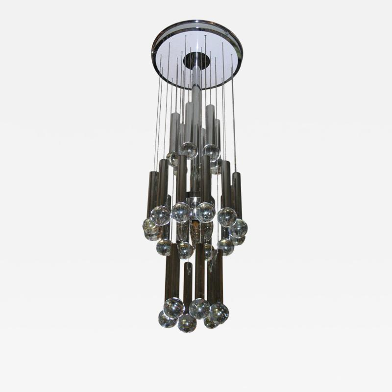 RAAK 1970s Dutch chandelier by RAAK Lighting