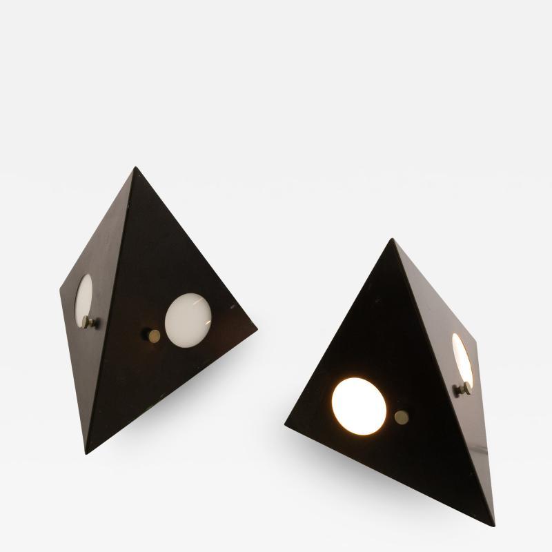 RAAK Pair of model C 1651 wall lamps by RAAK Amsterdam 1960s