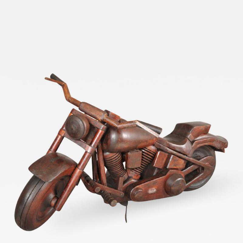 RARE MODEL OF A HARLEY DAVIDSON MOTORCYCLE
