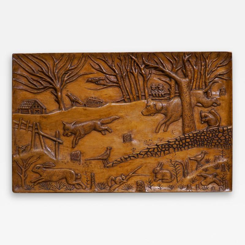 RELIEF CARVED PANEL
