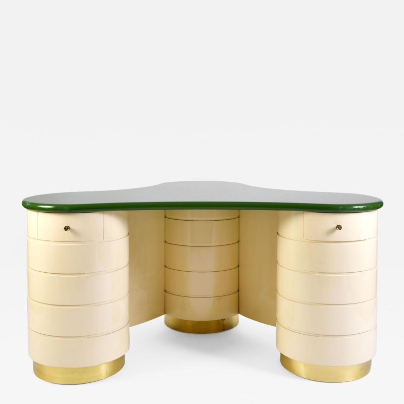 Rare 1960s Italian Vanity Dressing Table Desk
