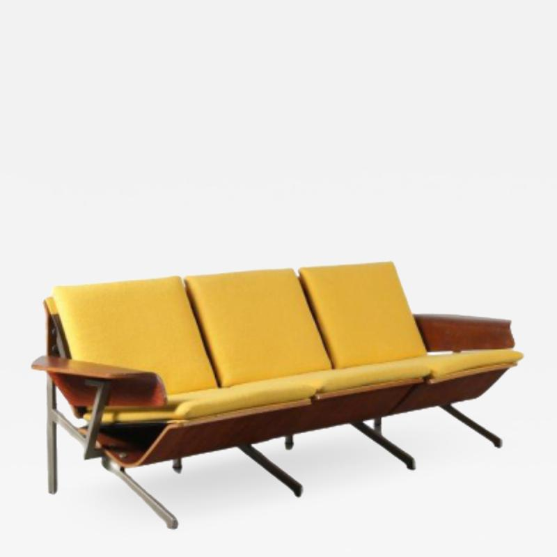 Rare Cornelis Zitman Sofa for Pastoe in The Netherlands 1964