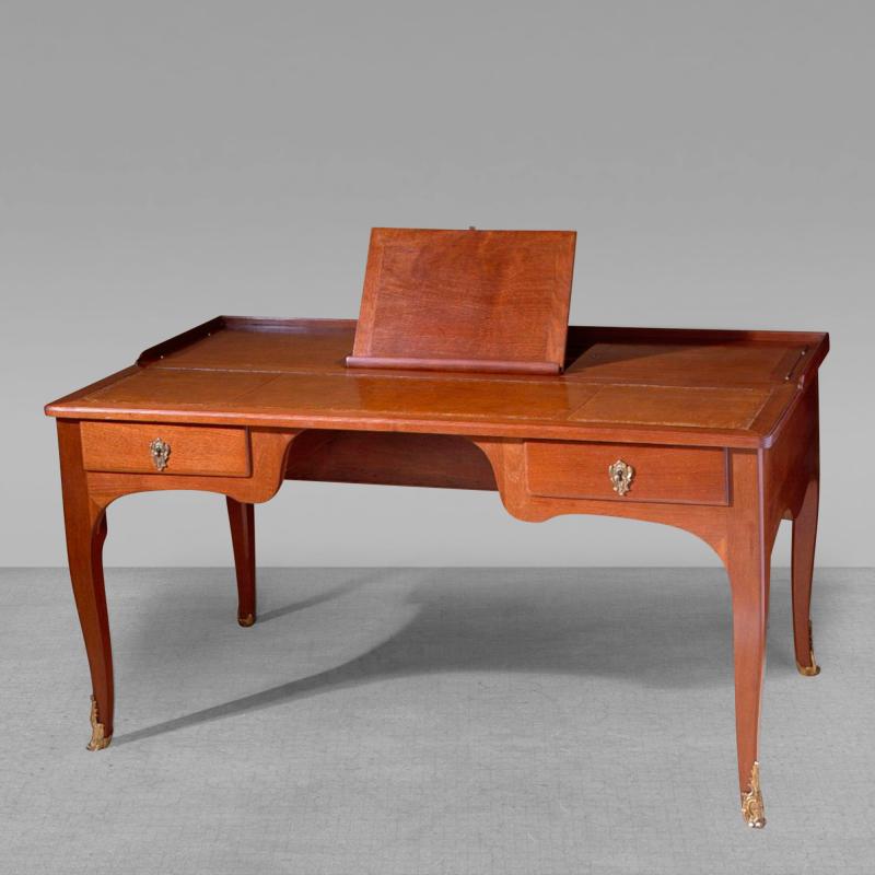 Rare French Louis XV Period Bureau Plat