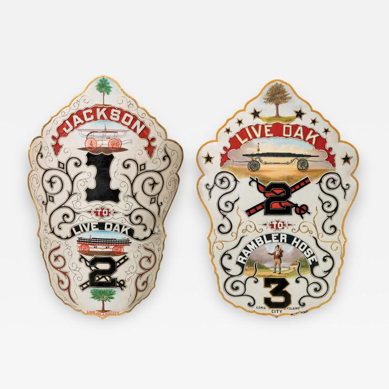 Rare presentation fire shields