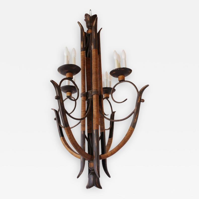 Chandelier rattan chandelier aloadofball Images