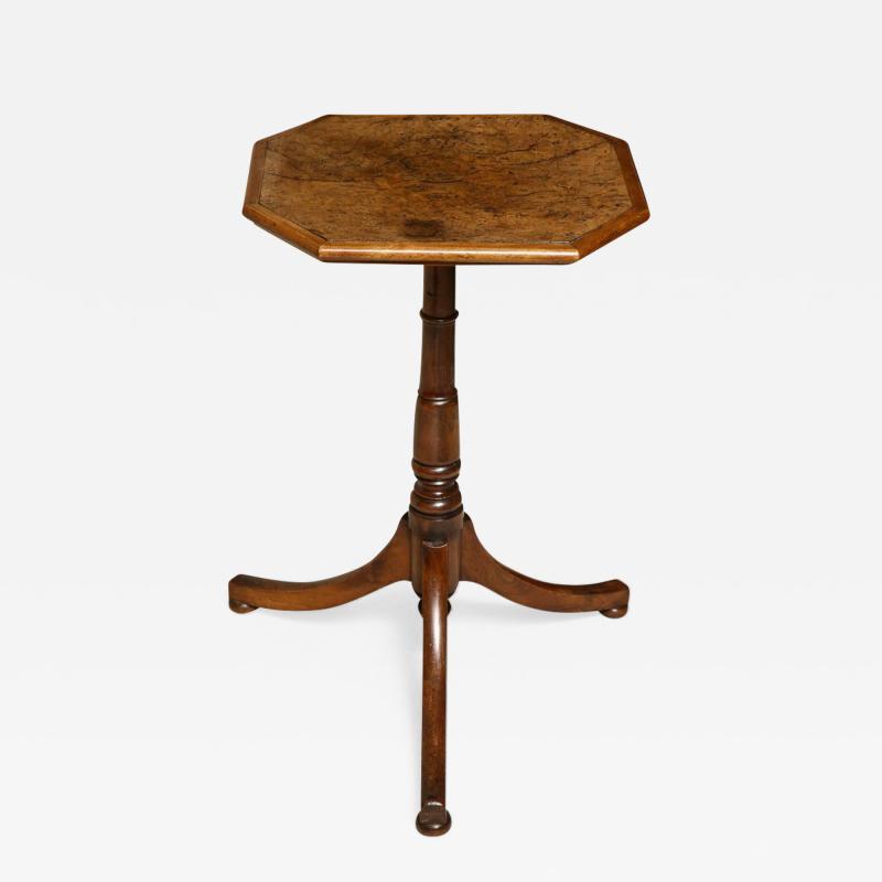 Regency Burr Oak and Yew Wood Table