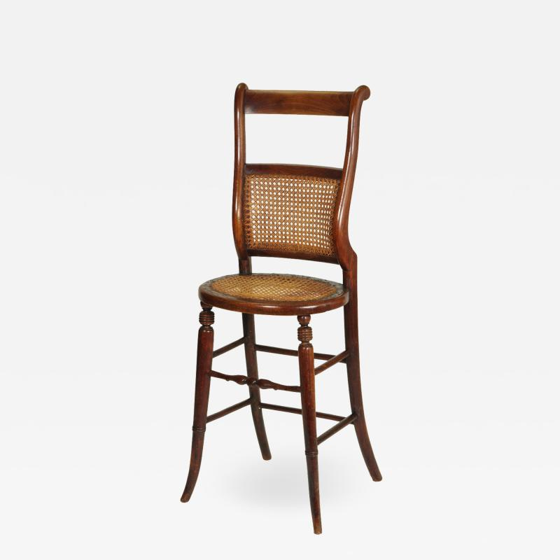 Regency Childs Correction Chair c 1830