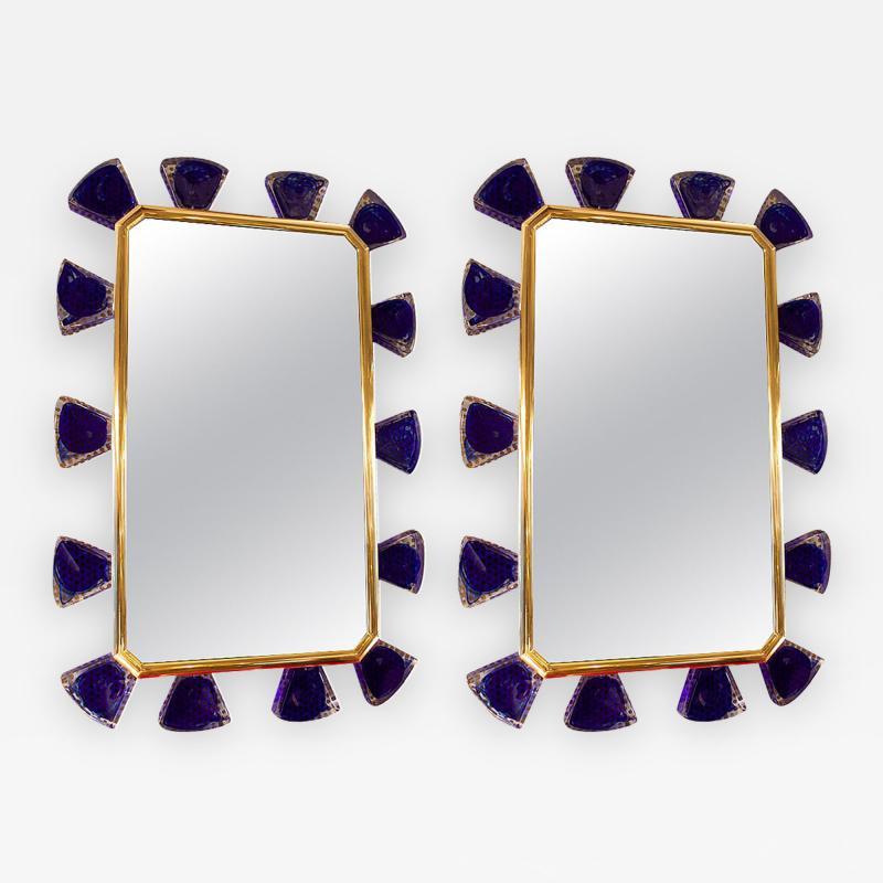 Regis Royant Fantastic Murano Glass Mirror
