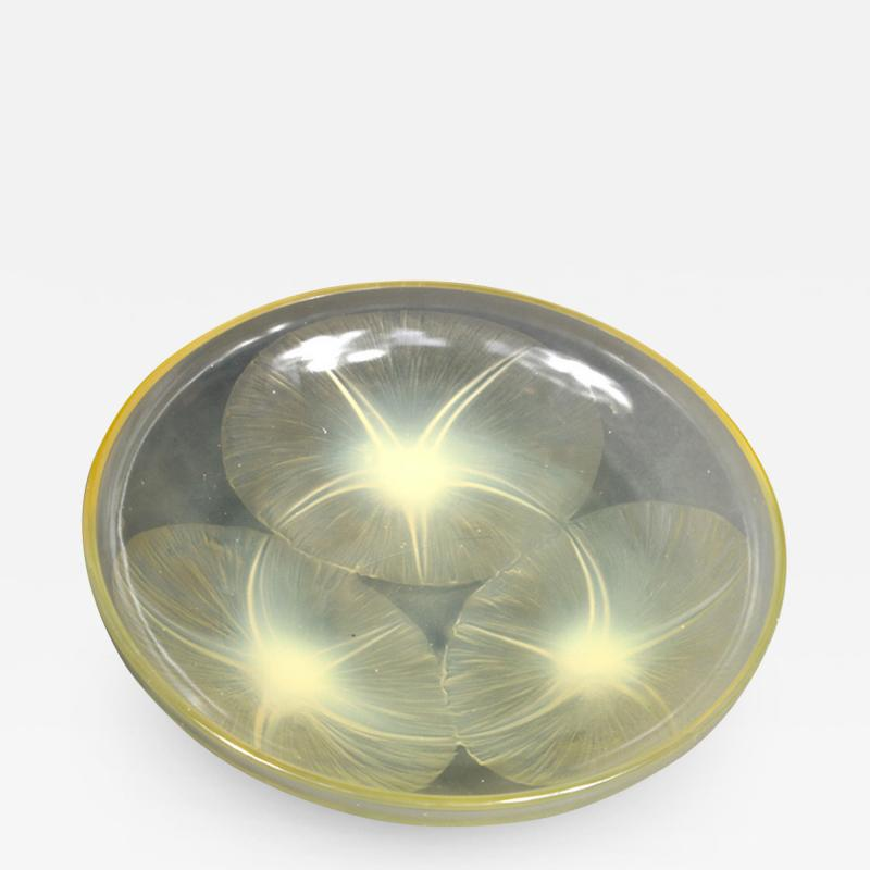 Ren Lalique Lalique Co A Volubilis Yellow Bowl By R Lalique Made In 1921