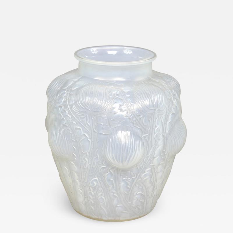 Ren Lalique Lalique Co An Opalescent Domremy Vase Designed By R Lalique In 1926