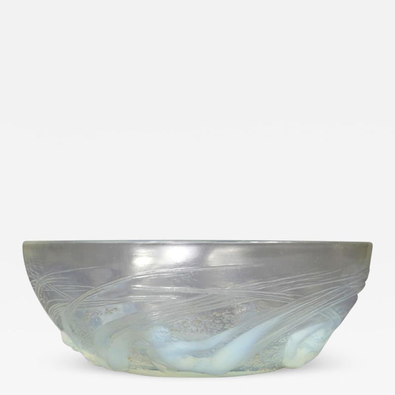 Ren Lalique Lalique Co An Opalescent Mermaid Bowl Designed By R Lalique In 1921