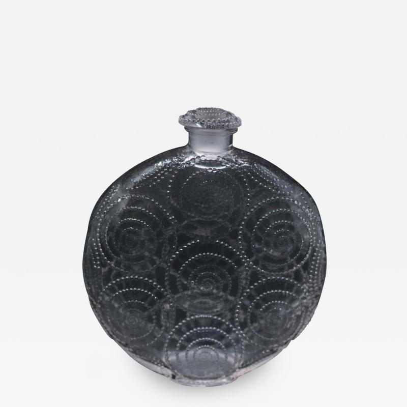 Ren Lalique Lalique Co Rene Lalique Clear Glass Forvil 8 Relief Perfume Bottle
