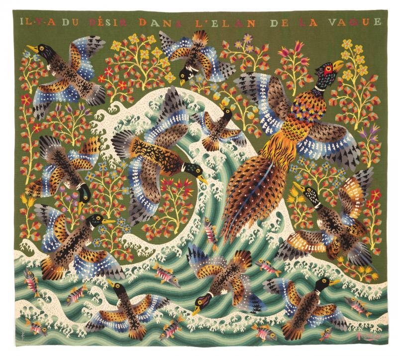 Ren Perrot Sublime Tapestry by Ren Perrot The Wave