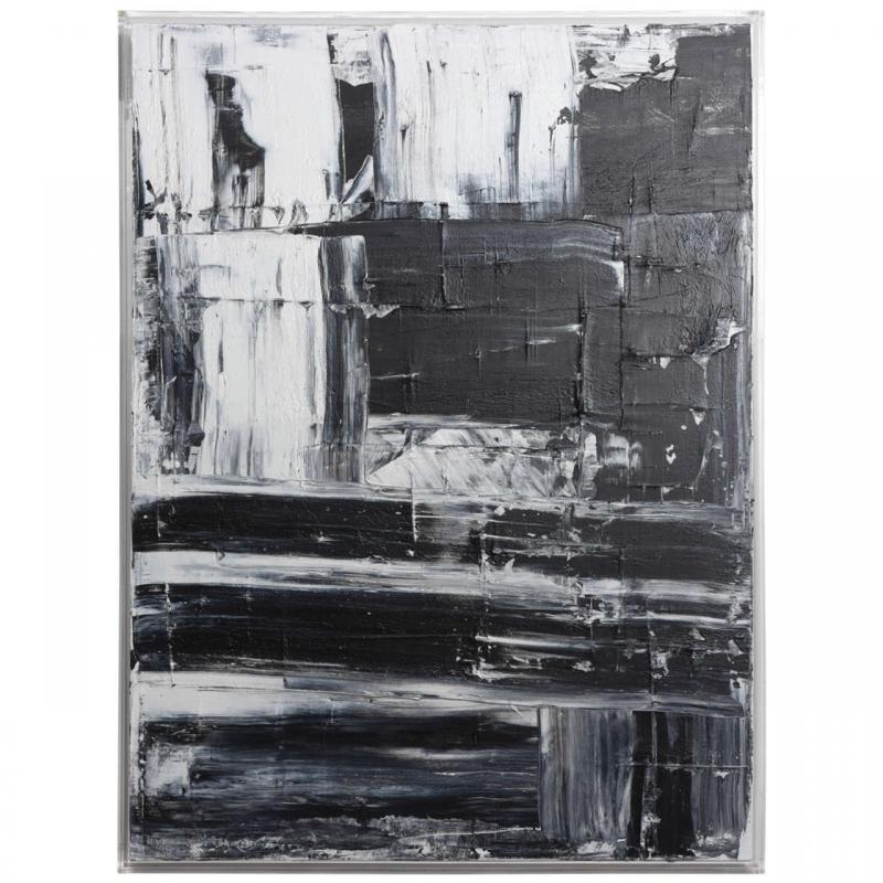 Renato Freitas Renato Freitas Original Oil on Canvas 2015 Black and White 1