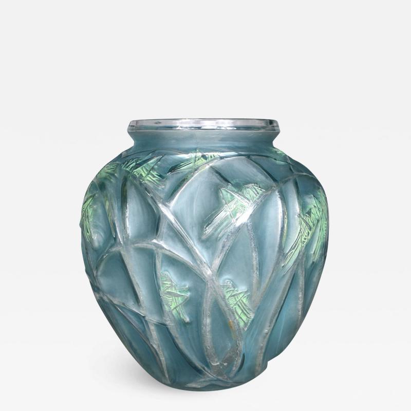 Rene Lalique A Grasshopper R Lalique 1912 Vase