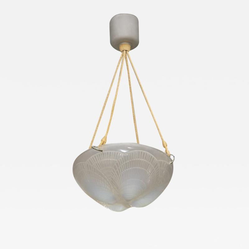 Rene Lalique An Opalescent Coquilles Chandelier R Lalique Created 1921