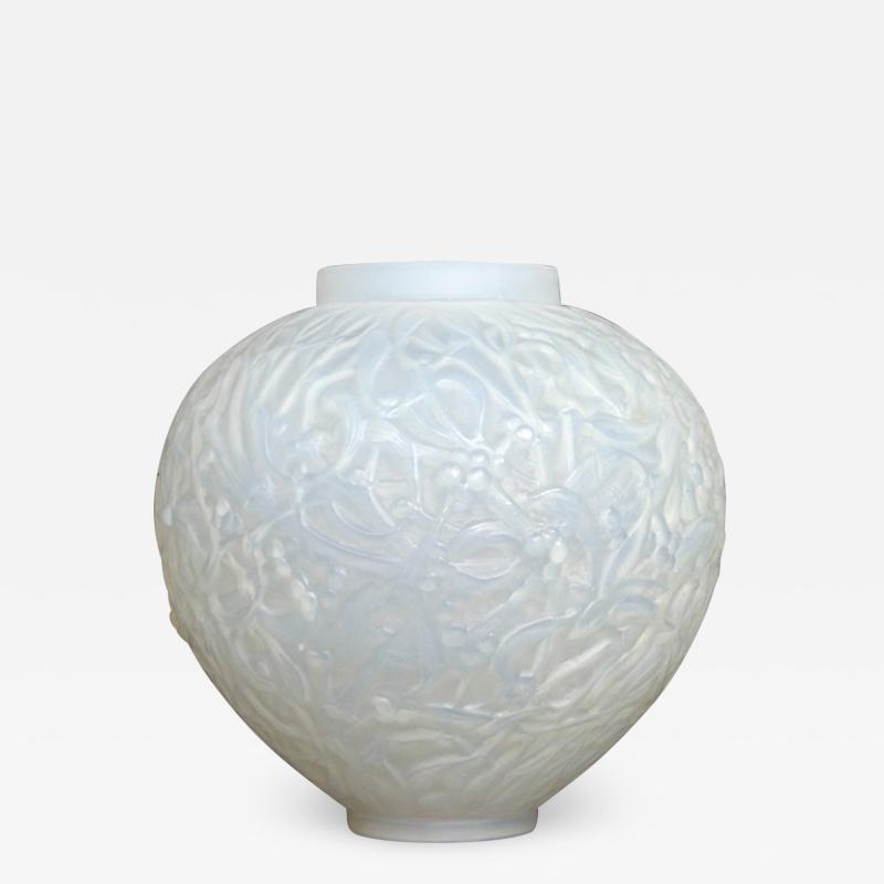 Rene Lalique An Opalescent Gui Vase Designed By R Lalique In 1920
