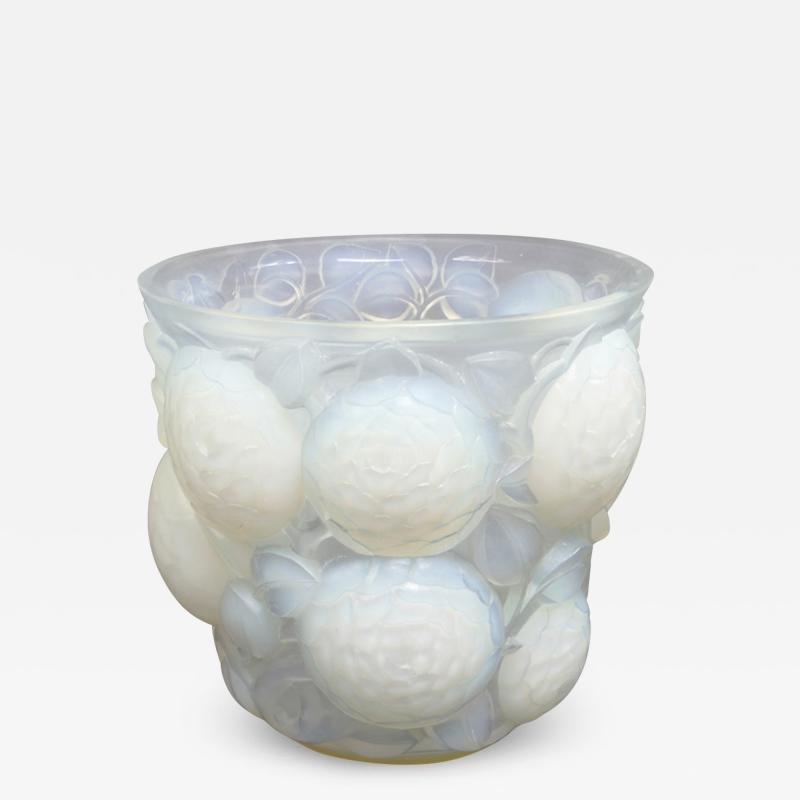 Rene Lalique An Opalescent Oran Vase Designed By R Lalique In 1927