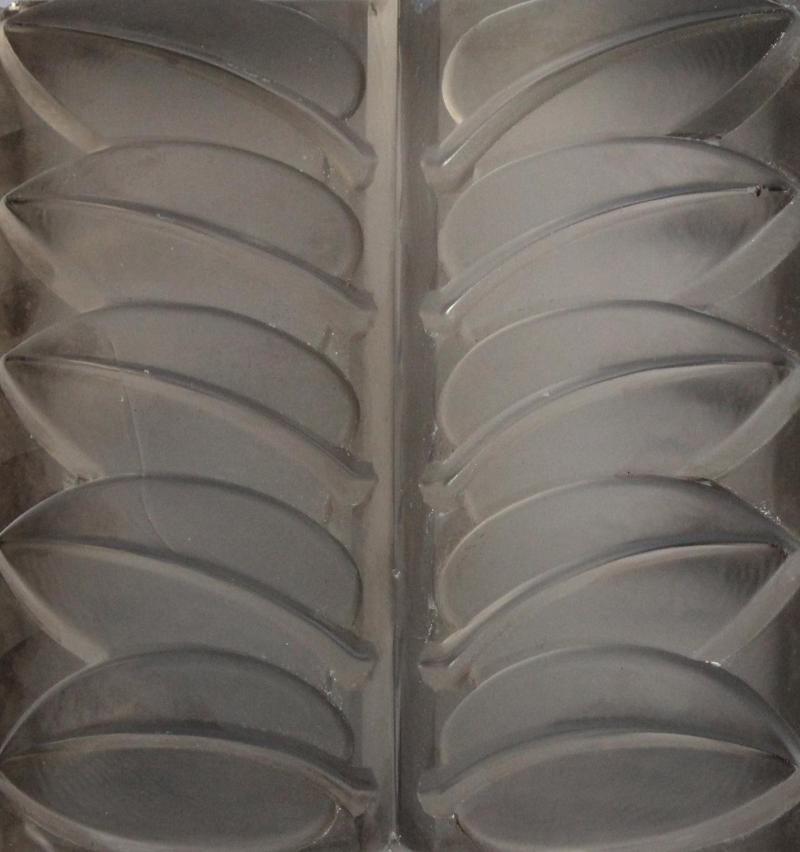 Rene Lalique Eight Floral Mirrored Glass Architectural Panels