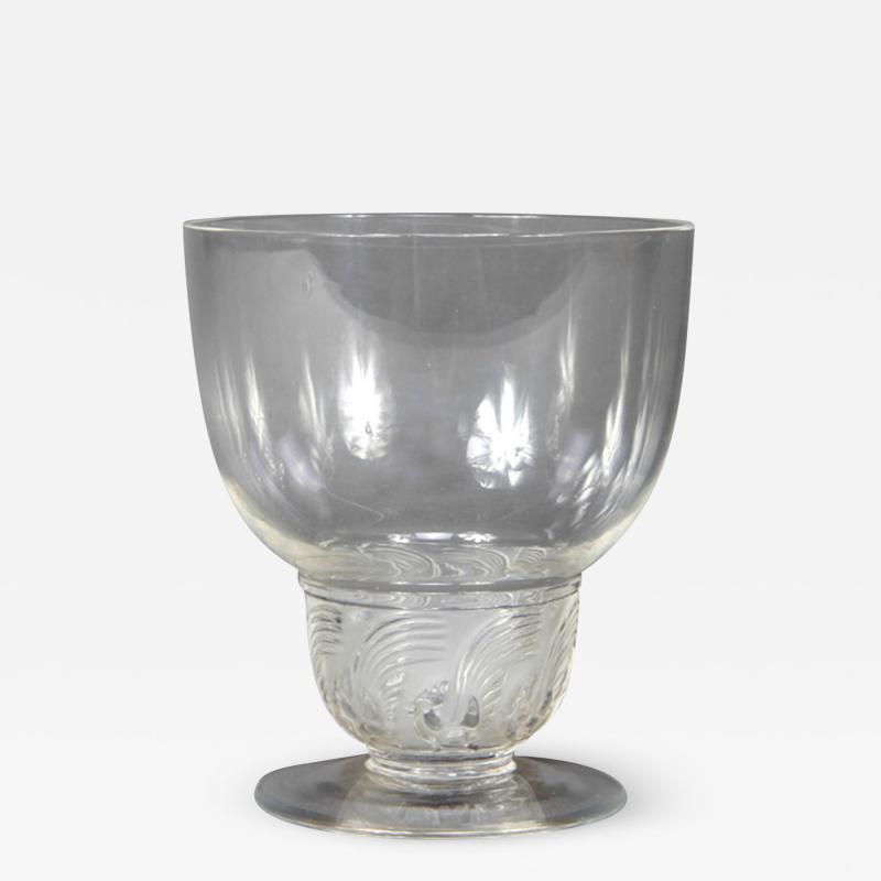 Rene Lalique Padova Porto Glasses R Lalique 1930