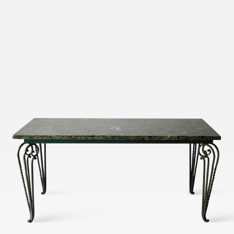 Rene Prou 1940s French table in the manner of Ren Prou
