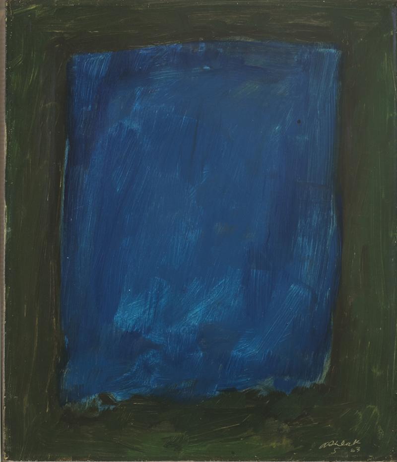 Rex J Ashlock Blue Color Field
