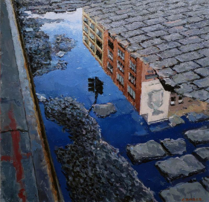 Richard Combes 14th Street Reflection