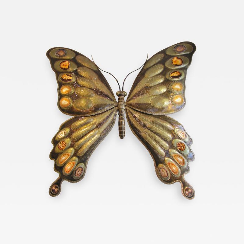 Richard Faure Butterfly Monumental luminous sculpture by Richard Faure