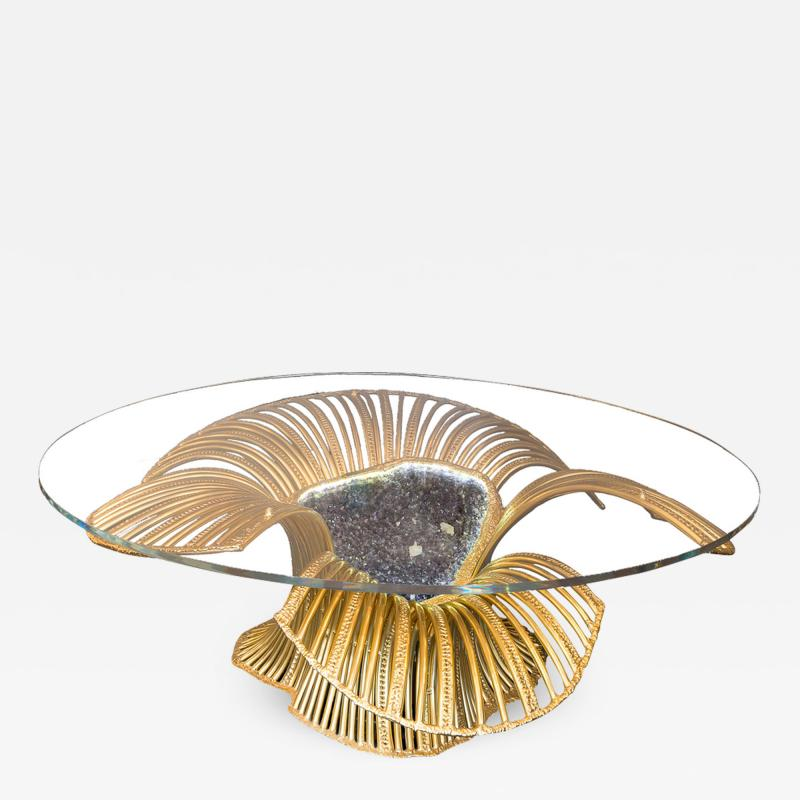 Richard Faure Sculpture table Sea Anemone by Richard Faure