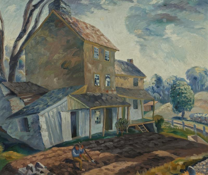 Richard Gibson Wedderspoon House on the Hill Stockton