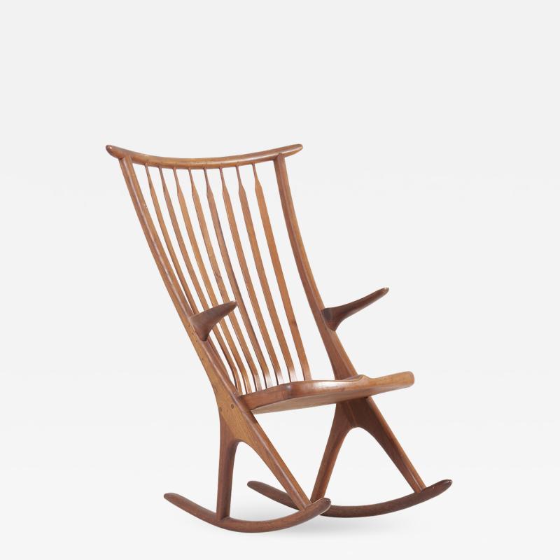 Richard Harrison Studio Rocking Chair by Richard Harrison USA 1960s