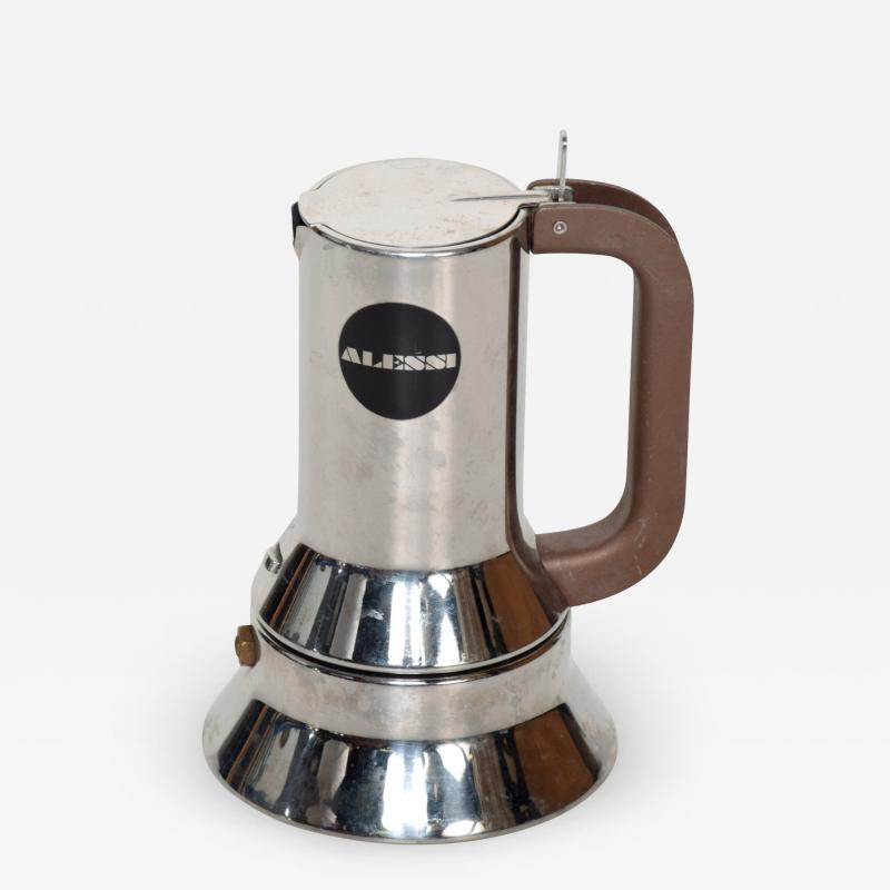 Richard Sapper Richard Sapper for Alessi Stylish Coffee Expresso Maker Vintage Modern ITALY
